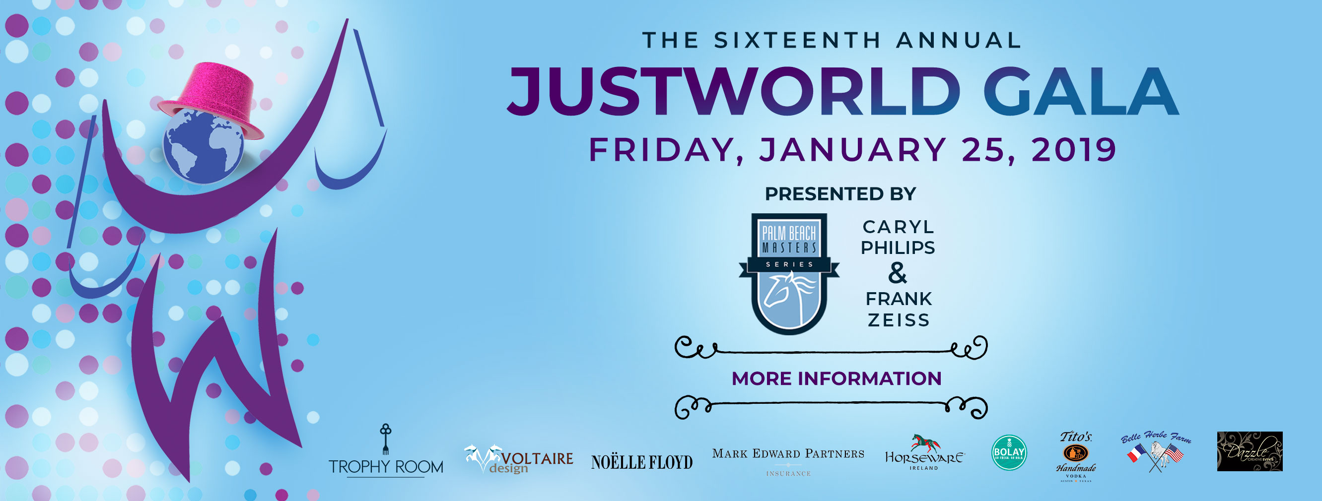 "Wear Your Best Party Hat and Celebrate JustWorld's ""Sweet 16"" Birthday Celebration"